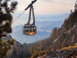 Aeial tram in the Canyons