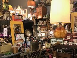 Interior of antiques