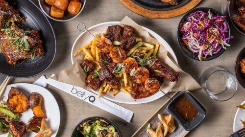 Platters of Korean BBQ