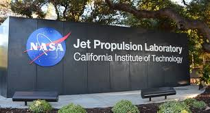 wall with JPL sign