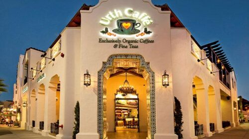 Store front entrance to Urth Caffe