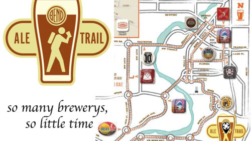 Map of Ale trail
